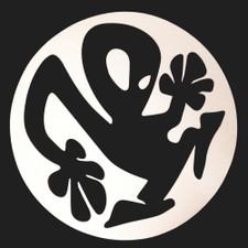 Plastikman - Logo (black on white) - Single Slipmat