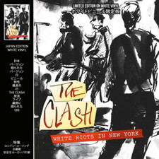 The Clash - White Riots In New York - LP Colored Vinyl
