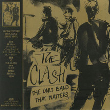 The Clash - The Only Band That Matters - LP Colored Vinyl