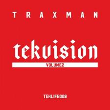Traxman - Tekvision Vol. 2 - LP Vinyl
