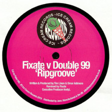 "Fixate v Double 99 - Ripgroove - 12"" Vinyl"