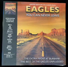 Eagles - You Can Never Leave - Best Of Unplugged - LP Clear Vinyl