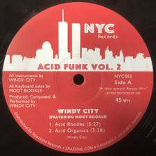 """Windy City - Acid Funk Vol. 2 - 12"""" Vinyl"""