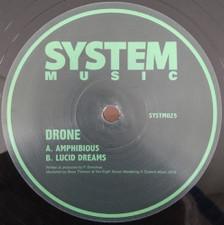 """Drone - Amphibious / Lucid Dreams - 12"""" Vinyl"""