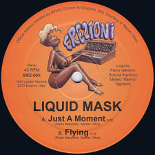 "Liquid Mask - Just A Moment - 12"" Vinyl"