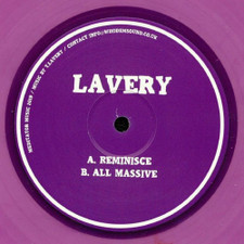 "Lavery - Reminisce / All Massive - 12"" Colored Vinyl"