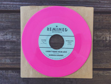 "Barbara Howard - I Don't Want You Love / The Man Above - 7"" Colored Vinyl"