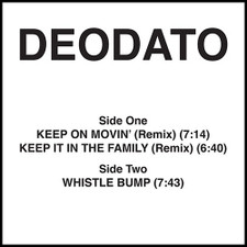 "Deodato - Keep On Movin' (Remix) - 12"" Vinyl"
