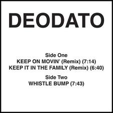 """Deodato - Keep On Movin' (Remix) - 12"""" Vinyl"""