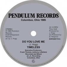 """Timeless Legend - Do You Love Me / You're The One - 12"""" Vinyl"""