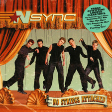 *NSYNC - No Strings Attached - LP Clear Vinyl