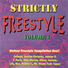 Various Artists - Strictly Freestyle Vol. 1 - Cassette
