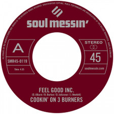 "Cookin' On 3 Burners - Feel Good Inc. / Cars - 7"" Vinyl"