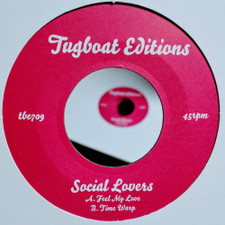 "Social Lovers - Feel My Love / Time Warp - 7"" Vinyl"