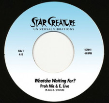 """Proh Mic & E. Live - Whatcha Waiting For? - 7"""" Vinyl"""