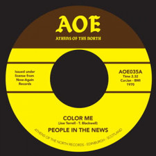 """People In The News - Color Me - 7"""" Vinyl"""