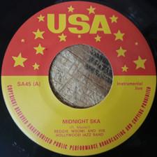 """Reggie Msomi - Midnight Ska / Blue Ska - 7"""" Vinyl"""