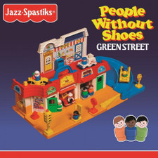 Jazz Spastiks & People Without Shoes - Green Street - 2x LP Colored Vinyl