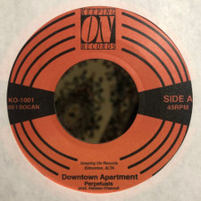 "Perpetuals - Downtown Apartment - 7"" Vinyl"