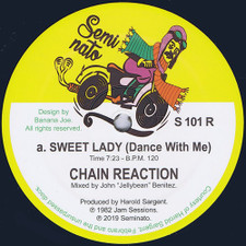 "Chain Reaction - Sweet Lady (Dance With Me) - 12"" Vinyl"