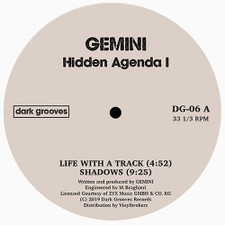 "Gemini / Spencer Kincy - Hidden Agenda / Tangled Thoughts - 12"" Vinyl"