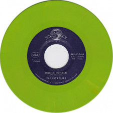 "The Olympians - Midnight Movement / Stand Tall - 7"" Colored Vinyl"
