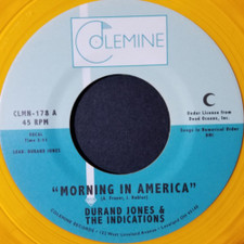"""Durand Jones & The Indications - Morning In America - 7"""" Colored Vinyl"""