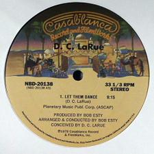 """D.C. LaRue / Dennis Parker - Let Them Dance / Like An Eagle - 12"""" Vinyl"""