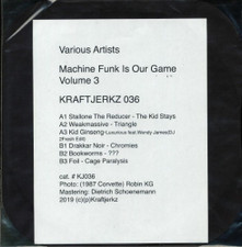"""Various Artists - Machine Funk Is Our Game Vol. 3 - 12"""" Vinyl"""