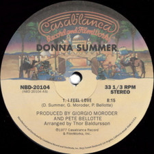 "Donna Summer - I Feel Love / Love To Love You - 12"" Vinyl"