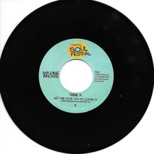 "Maxine Brown - Let Me Give You My Lovin - 7"" Vinyl"