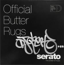 Q-Bert - Back Up Butter Rugs Black (Signed) - 4x Slipmats