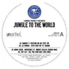 "Various Artists - Jungle To The World 4 - 12"" Vinyl"