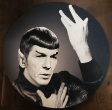 Mr. Spock - Heroes - Single Slipmat