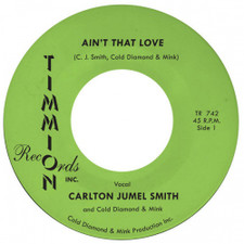 "Carlton Jumel Smith - Ain't That Love - 7"" Vinyl"
