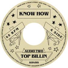 """Audio Two - Top Billin - 7"""" Vinyl"""