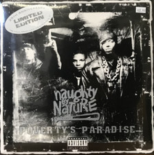 """Naughty By Nature - Poverty's Paradise RSD - 2x LP Colored Vinyl+7"""""""
