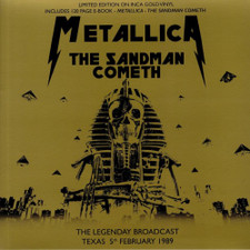 Metallica - The Sandman Cometh Live 2/5/1989 - LP Colored Vinyl