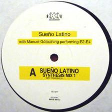 """Sueno Latino & Manuel Gottsching - Sueno Latino (Synthesis Mix) - 12"""" Vinyl"""