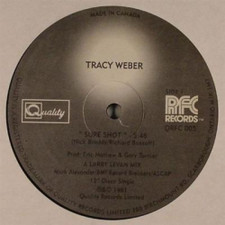 "Tracy Weber - Sure Shot - 12"" Vinyl"