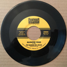 "The Railroad Ave. Bullies - Alligator Shoes - 7"" Vinyl"