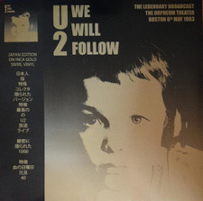 U2 - We Will Follow - LP Colored Vinyl