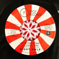 "Night Owls feat. Durand Jones - This Christmas - 7"" Vinyl"