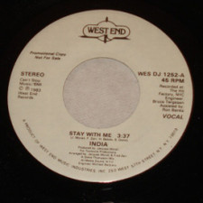 "India - Stay With Me - 7"" Vinyl"