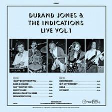 Durand Jones & The Indications - Live Vol. 1 - LP Vinyl