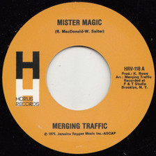 "Merging Traffic - Mister Magic / Tonight - 7"" Vinyl"