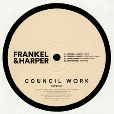 "Frankel & Harper - Dread Ep - 12"" Vinyl"