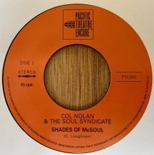 """Col Nolan & The Soul Syndicate - Shades Of McSoul - 7"""" Vinyl"""