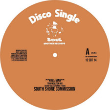 "South Shore Commisson / Ultra High Frequency - Free Man / We're On The Right Track (Tom Moulton Mixes) - 12"" Vinyl"