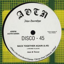 """Jean & Trevor - Back Together Again - 12"""" Vinyl"""